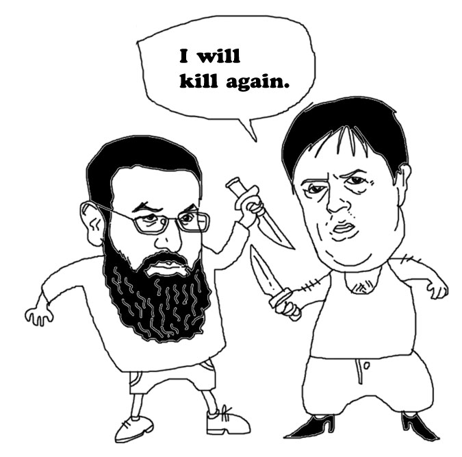 Anjem Chaudhary and Nick Griffin