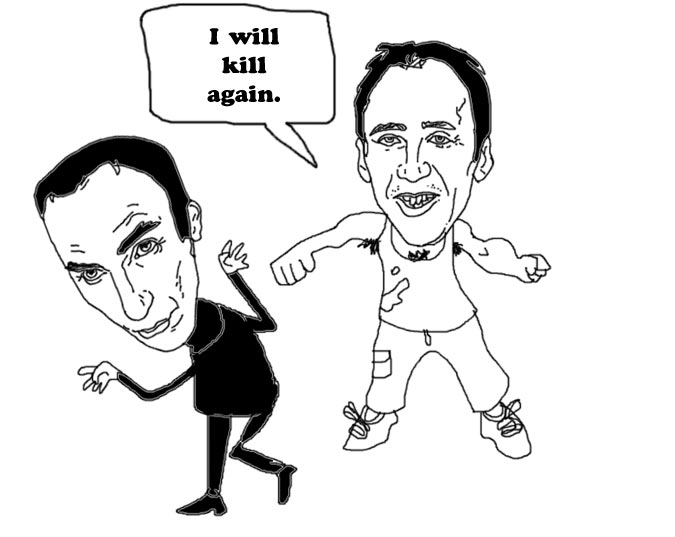 Nicolas Cage and Will Self.