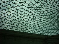 The new roof at the British Museum