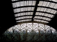 The roof of Paddington station.
