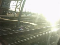 Shot taken from the window as train approached Willesden Junction